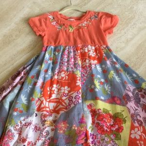 Girl handkerchief dress size 6